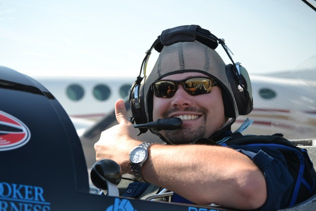 Aaron Galloway rides along with Rob Holland Ultimate Airshows